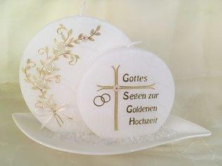 Goldene Hochzeit Kerzenparadies Edlitz